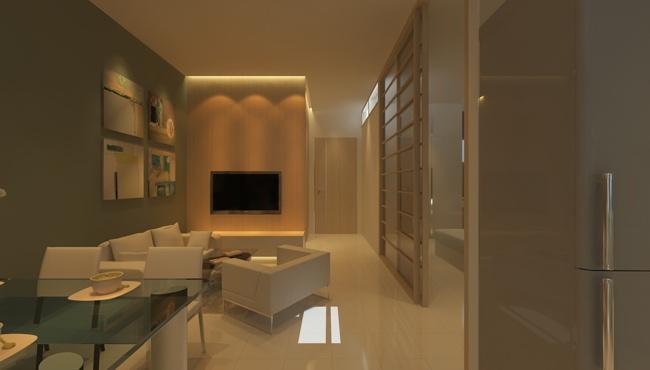 Mẫu phòng khách Ehome 3