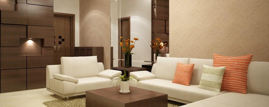 Mẫu phòng khách căn hộ Era Town