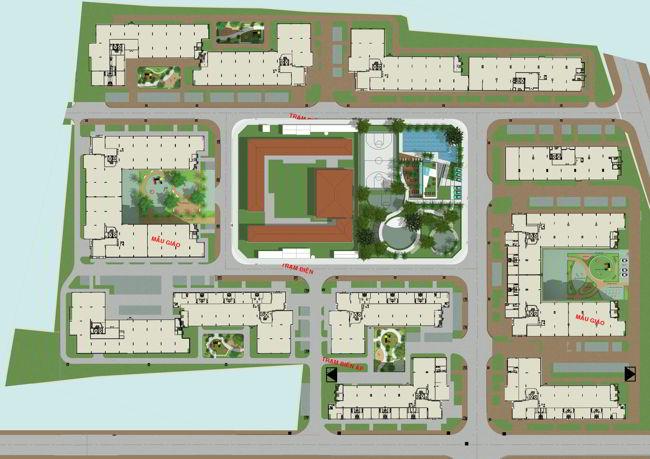 Quy hoạch dự án Ehome 3