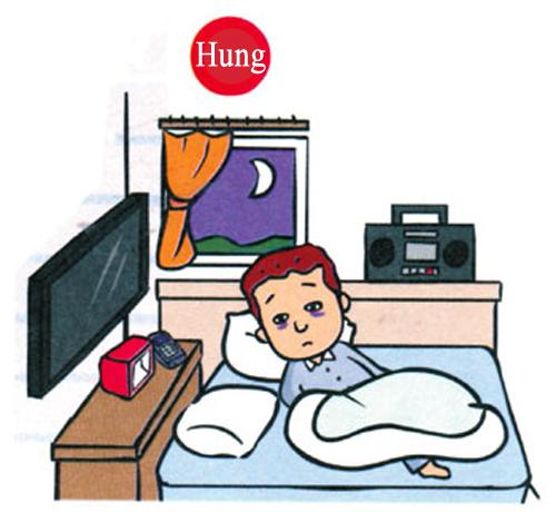 Đặt TV, hệ thống âm thanh, điện thoại phía trước giường ngủ