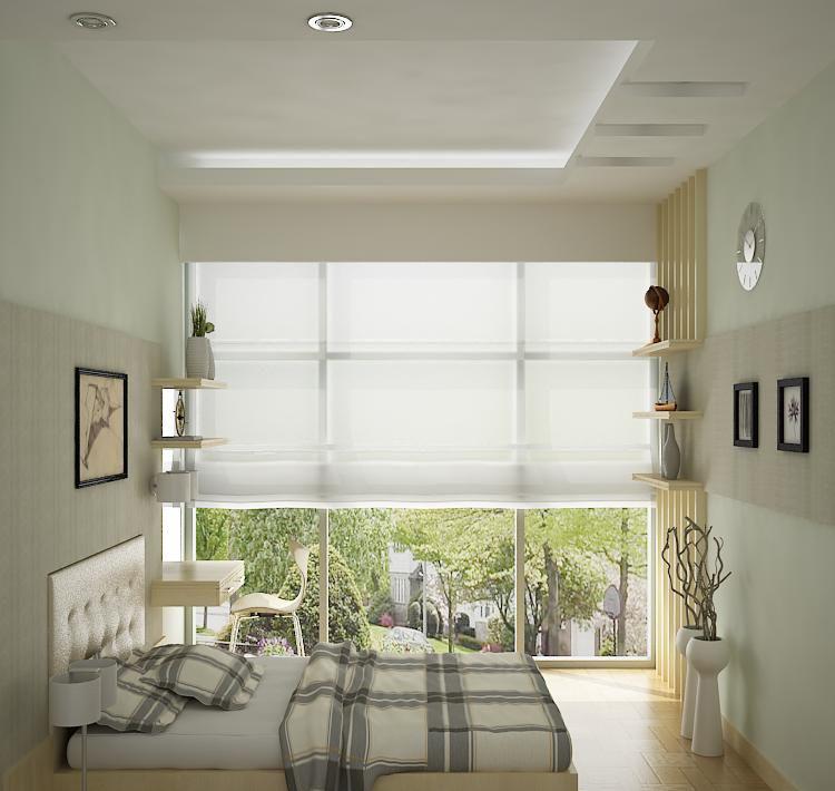 Phòng ngủ căn hộ Hoàng Anh Thanh Bình