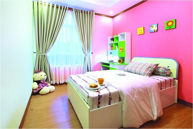 Phòng cho bé căn hộ Hoàng Anh Thanh BÌnh