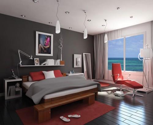 Phòng ngủ căn hộ OSC Land Vũng Tàu