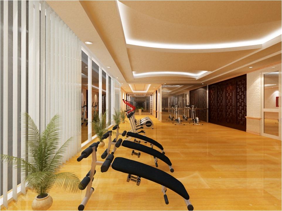 Phòng tập gym Căn hộ Hoàng Kim Thế Gia