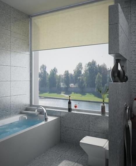 Phòng tắm căn hộ Phú Hoàng Anh