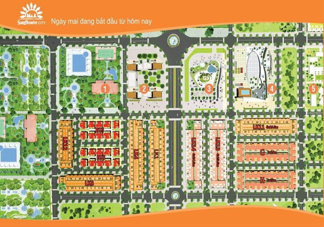 Vị tri dự án khu đô thị Sunflower City