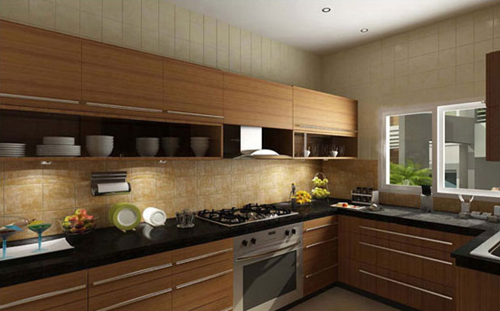 mẫu nhà bếp hiện đại trang nhã