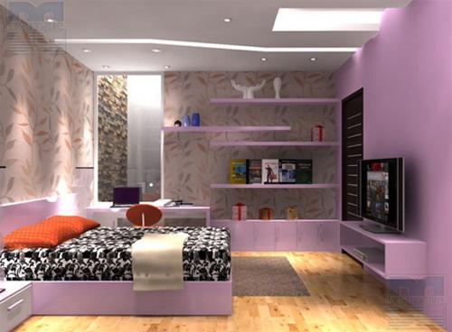 Mẫu phòng ngủ hiện đại và lãng mạn