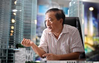 Ông Nguyễn Văn Đực, công ty Địa Ốc Đất Lành